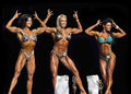 Beautiful Physique Winners Flex in Vancouver Royalty Free Stock Photo