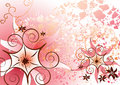 Beautiful Pink Floral Royalty Free Stock Images