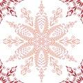 Beautiful pink pattern. Seamless Stock Image