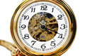 Beautiful pocket clock Royalty Free Stock Photo