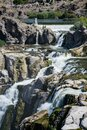 Beautiful pools and small falls on the Snake River Royalty Free Stock Photo