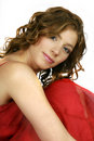 Beautiful portrait woman Arkivbild