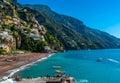 Beautiful Positano Italy beach. Royalty Free Stock Photo