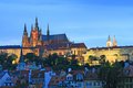 The beautiful Prague City Stock Images