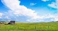 Beautiful prairie landscape in Alberta, Canada Royalty Free Stock Photo