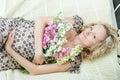 Beautiful pregnant female Royalty Free Stock Photo