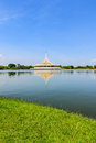 A beautiful public garden in bangkok thailand suan luang rama Royalty Free Stock Photos