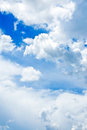 Beautiful rainclouds in the blue sky at chiangmai thailand city northern Stock Images