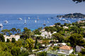 Beautiful residential location cap ferrat france may private houses along the coast of cap ferrat offers one of the most tourist Stock Image