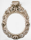Krásny barokový zrkadlo