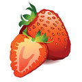 Beautiful ripe red fresh strawberry Royalty Free Stock Image
