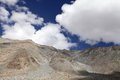 Beautiful rocky mountain of ladakh landscape region Royalty Free Stock Images