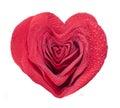 Beautiful rose heart Royalty Free Stock Photo