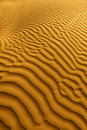 Beautiful Sand Dune Formations in Death Valley Royalty Free Stock Photography