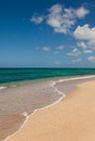 Beautiful Sandy Tropical Beach Ocean Seascape Royalty Free Stock Image