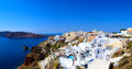 Beautiful santorini officially thira is an island in the southern aegean sea about km mi southeast from greeces mainland Stock Image