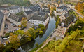 Beautiful Scene in Luxemburg Royalty Free Stock Photo