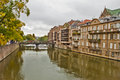 Beautiful scene in metz france Royalty Free Stock Image