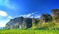 Beautiful scenery of mountain Royalty Free Stock Photo
