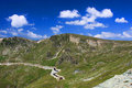 Beautiful scenery from Transalpina Royalty Free Stock Photography