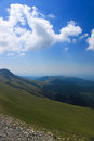Beautiful scenery from Transalpina Stock Photography