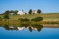 Beautiful Scenic Barn Reflects...