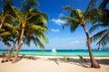 Beautiful sea and coastlines, tropic Royalty Free Stock Photo