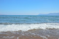The beautiful sea near chania crete island greece Stock Photography