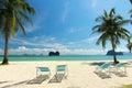 Beautiful sea in thailand at trang Royalty Free Stock Images