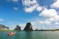 Beautiful sea in thailand at trang Stock Photography