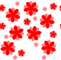 Beautiful seamless floral texture pattern