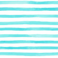 seamless pattern with blue watercolor stripes. hand painted brush strokes, striped background. Vector illustration