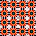 Beautiful seamless pattern. Decorative elements. vector illustration