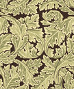 Beautiful seamless rococo pattern Royalty Free Stock Images