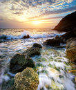 Beautiful seascape. Royalty Free Stock Photo