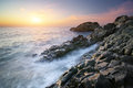 Beautiful seascape composition of nature Stock Photo