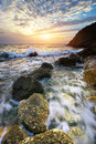 Beautiful seascape composition of nature Stock Image