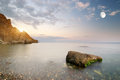 Beautiful seascape composition of nature Royalty Free Stock Photography