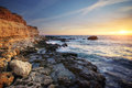 Beautiful seascape composition of nature Stock Photography