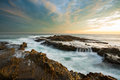 Beautiful seascape in southern California Royalty Free Stock Photos