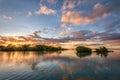 Beautiful seascape at sunset Royalty Free Stock Photo
