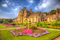 Beautiful september sunshine and warm weather drew visitors to the gardens at tyntesfield house wraxhall north somerset england th Stock Photo