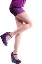 Beautiful Sexy Model Woman Leg...