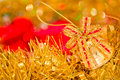 Beautiful shining Christmas ornaments Stock Photos