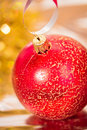 Beautiful shining Christmas ornaments Stock Photography