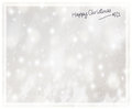 Beautiful silver Christmas card Royalty Free Stock Photo