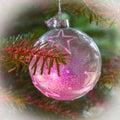 Argento bianco stelle abete albero rosa luce