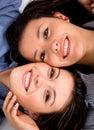 Beautiful sisters portrait Royalty Free Stock Photo