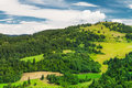 Beautiful Slovak mountain landscape