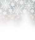 Beautiful snowflakes border Royalty Free Stock Photo